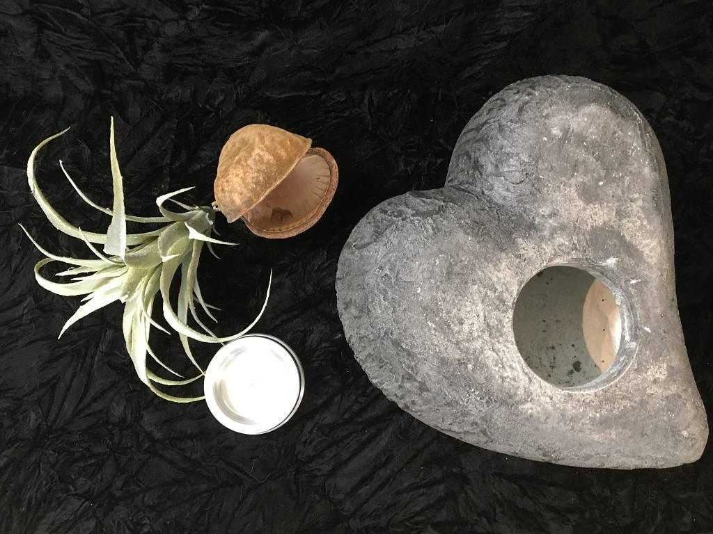 L Urne rustikal pombiert anthrazit 2